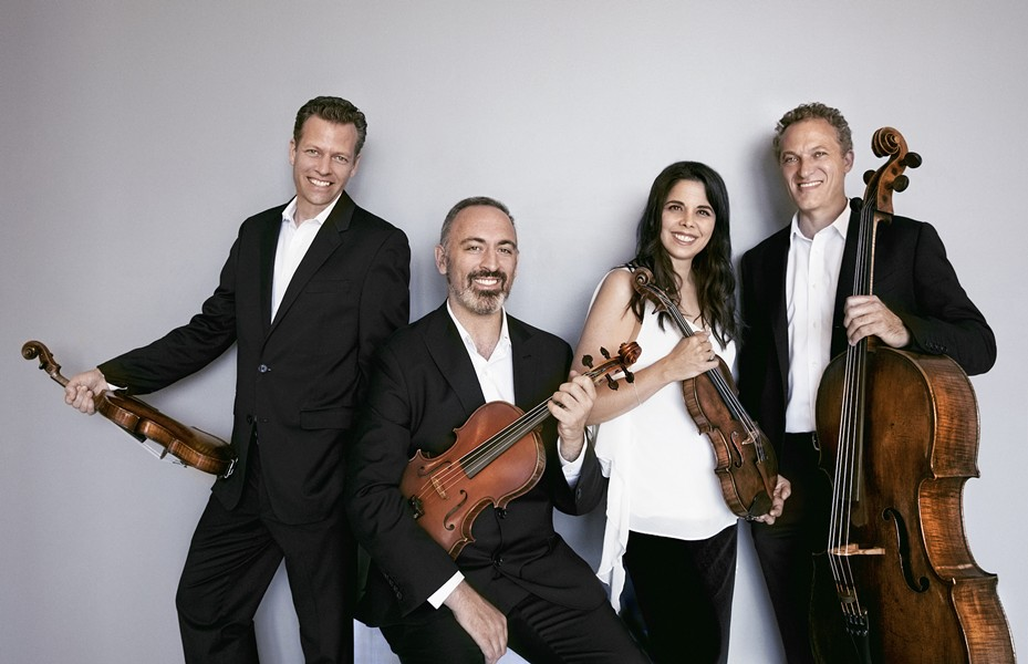 Pacifica Quartet help kick off the Music in the Vineyards @ Home Festival on Wednesday, Aug 5. - LISA-MARIE MAZZUCCO