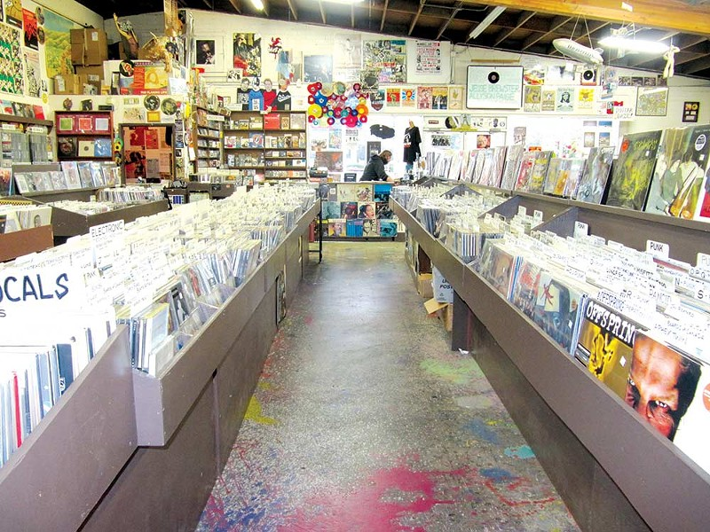 Due to Covid-19 health concerns, Record Store Day looks very different this year at several North Bay shops including Santa Rosa's Last Record Store. Photo - COURTESY THE LAST RECORD STORE