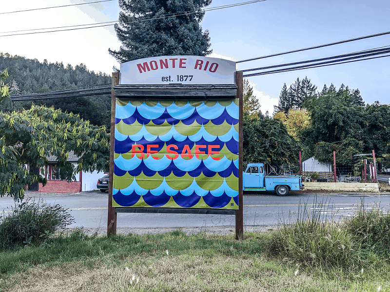 Russian River and Monte Rio Chambers of Commerce are partnering with artist Jim Isermann for an art installation throughout the Russian River community. - PHOTO COURTESY RUSSIAN RIVER CHAMBER OF COMMERCE