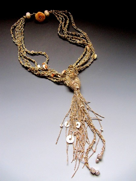 """Silver Braids"" by Lucia Antonelli"