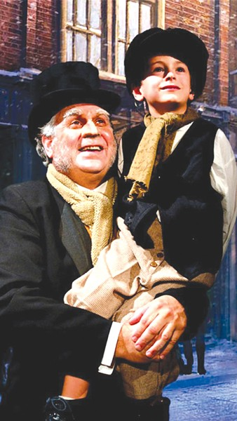 NO SCROOGE Jared Sakren, left, takes the reins as executive director of 6th Street Playhouse.