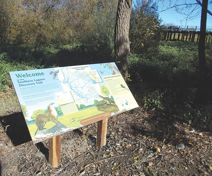 SWAMP TOUR The Laguna de Santa Rosa Foundation debuts its Laguna Discovery Trail this weekend.