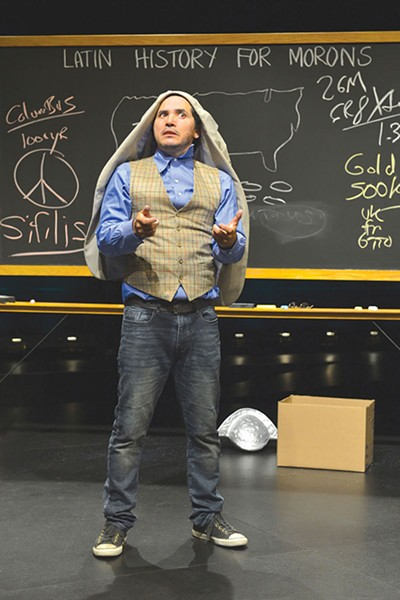 CLASS IS IN SESSION John Leguizamo's inquiry into Latino culture leads to self revelations.