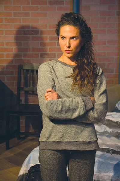 MEAN GIRL  The ferocious Daphna (Emily Kron) is hard to like given her condenscending manner. - AJ REILLY