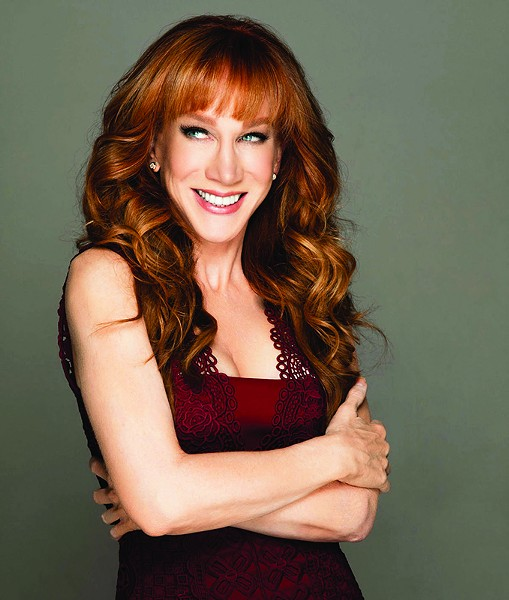 ROASTED Kathy Griffin brings her celebrity-skewering comedy to Napa in June.
