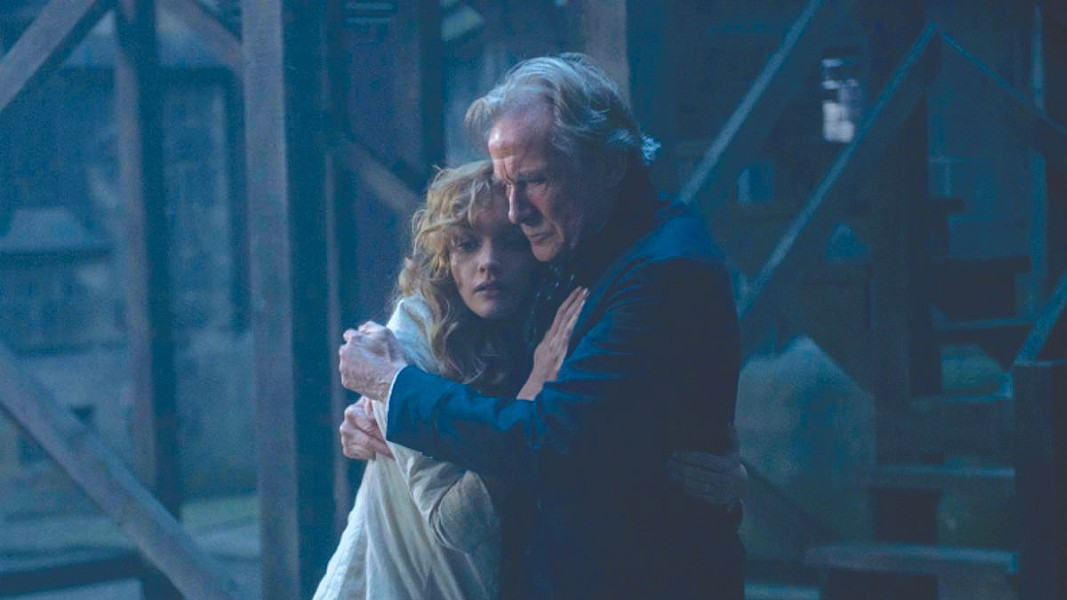 GASLIGHT  Inspector John Kildare (Bill Nighy) enlists the help of Lizzie Cree (Olivia Cooke) to solve a series of murders in old London.