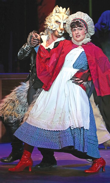 CAST OF CHARACTERS Stephen Sondheim's 'Into the Woods' mashes several beloved fairy tales. - JEFF THOMAS