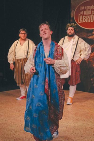 INCOMPLEAT 6th Street Playhouse's Shakespeare mashup is too darn loud. - ERIC CHAZANKIN