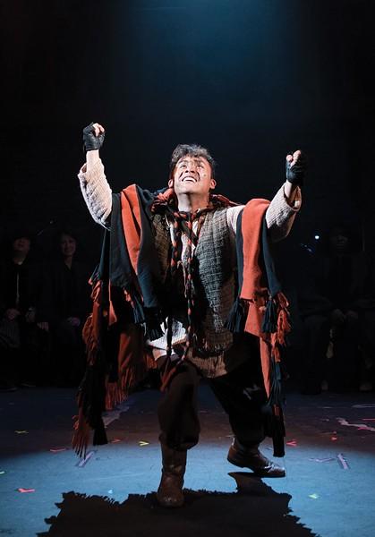 I HAVE A HUNCH Alex Rodriguez delivers a powerful performance as Quasimodo. - BEN KRANTZ