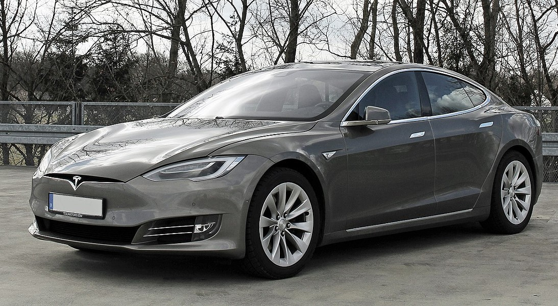 You can really put the pedo to the metal in this Tesla - WIKIPEDIA