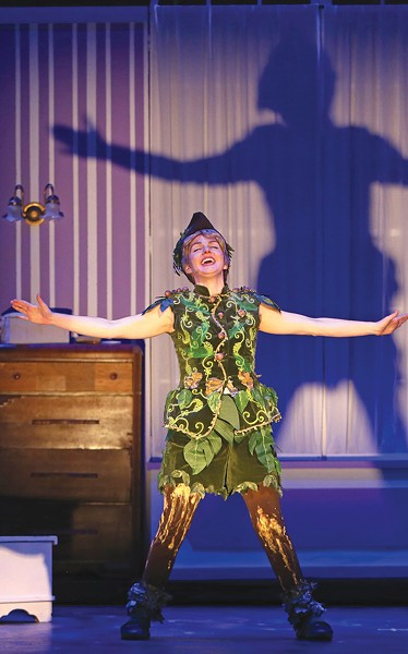FOREVER YOUNG Spreckels made audiences believe in 'Peter Pan.' - JEFF THOMAS