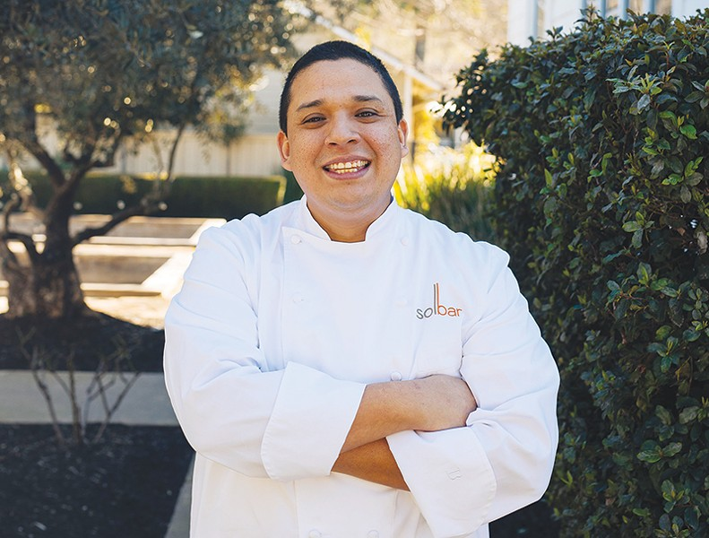 GO WEST Chef Gustavo Rios' career started in faraway Virginia.