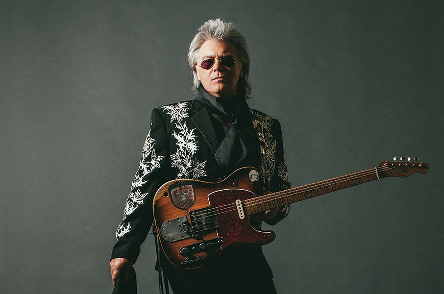 You Look Fabulous Mississippi native Marty Stuart brings his super-sized sound to Napa, opening for the Steve Miller Band on Aug. 25. - ALYSSA GAFKJEN