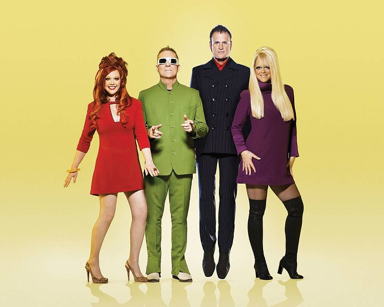 Party All the Time The B-52s have been synonymous with fun since the '70s. - JOSEPH CULTICE