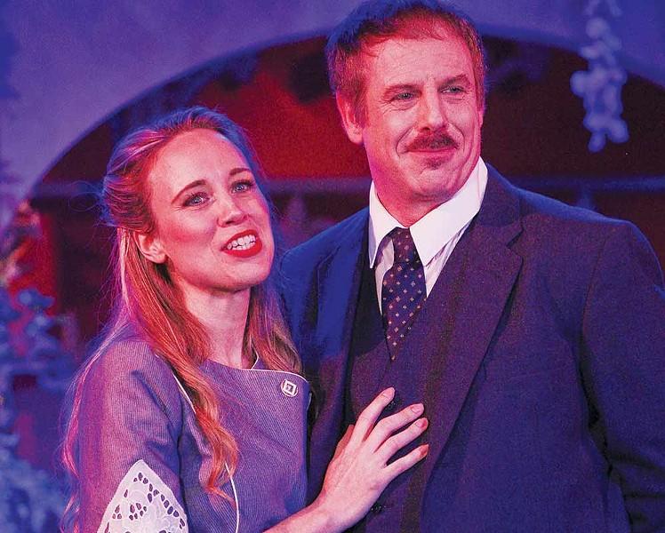 GETAWAY Katie Kelley and Matthew Witthaus embark on an Italian vacation in 'Enchanted April.' - ERIC CHAZANKIN
