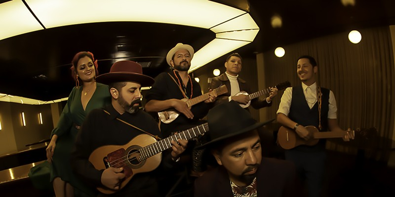 Green Music Center favorites Las Cafeteras share genre-bending music and lyrically-rich storytelling on Oct. 15 as part of the center's online season of shows.