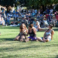 Scenes from the Aug. 14 NorBay concert at Julliard Park Free live music + good weather = good times. Jon Lohne