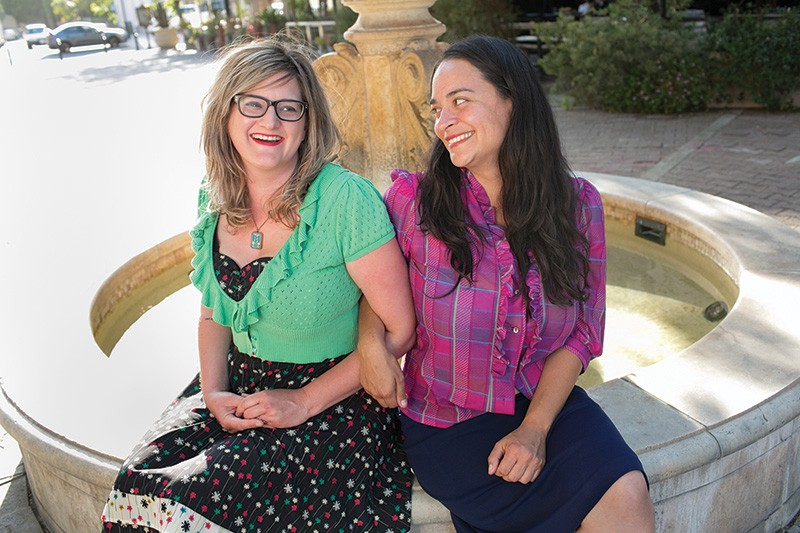 MEET YOUR MAKERS  Nicole Stevenson and business partner Delilah Snell run two of California's largest craft shows.
