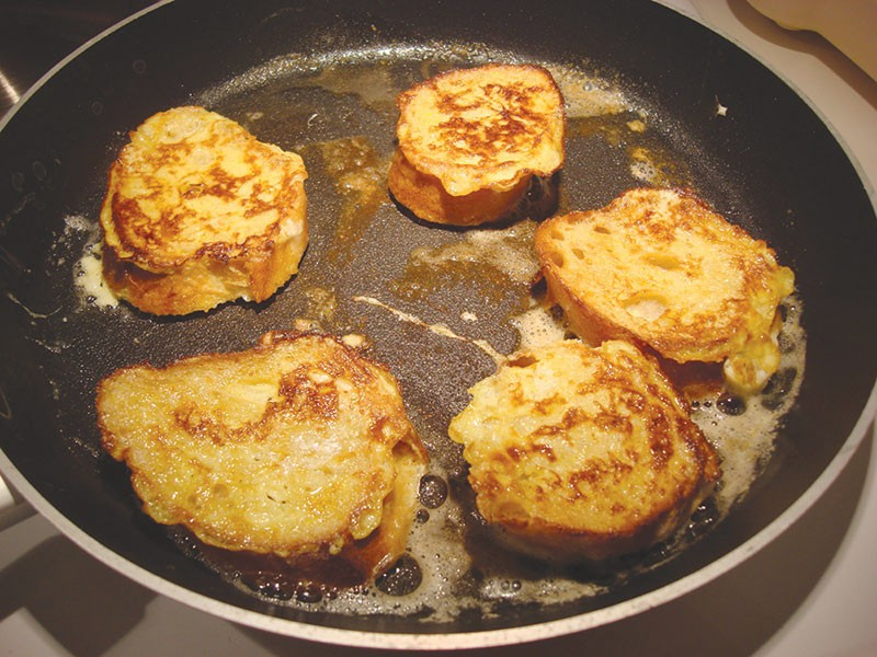 'LOST BREAD' FOUND French toast isn't just for breakfast anymore.