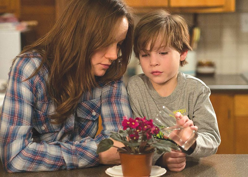 HELL IS FOR CHILDREN Brie Larson, left, tries to make the best of a life turned upside down in 'Room.'
