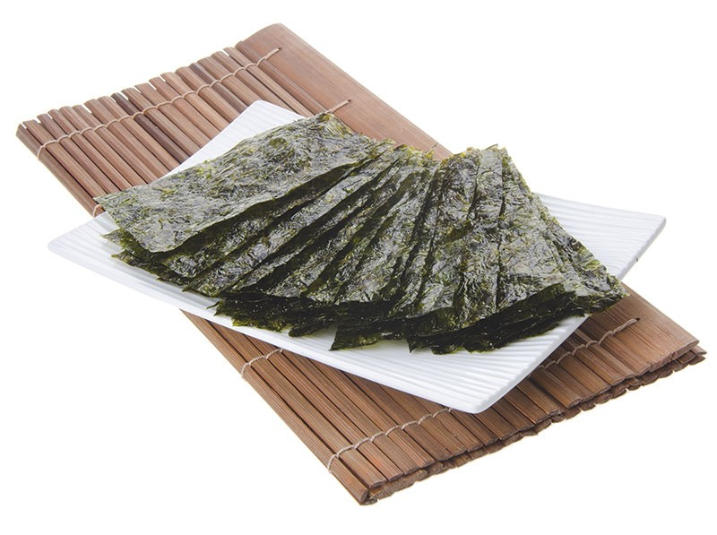 NOT JUST FOR SUSHI ANYMORE  Seaweed, especially protein-rich nori, goes great with scrambled eggs.