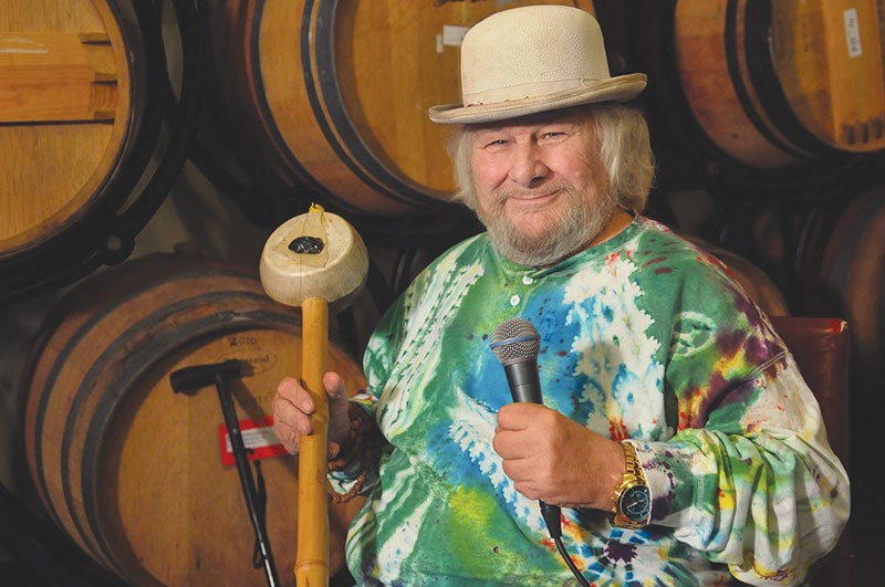 WISE WORDS  'I try to be enthusiastic with each breath,' says Wavy Gravy, as he turns 80.