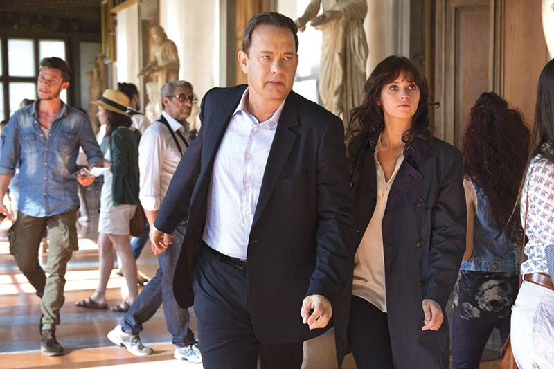 BOURNE, BABY, BOURNE  Tom Hanks tries his best to turn 'Inferno' into a hot thriller franchise.
