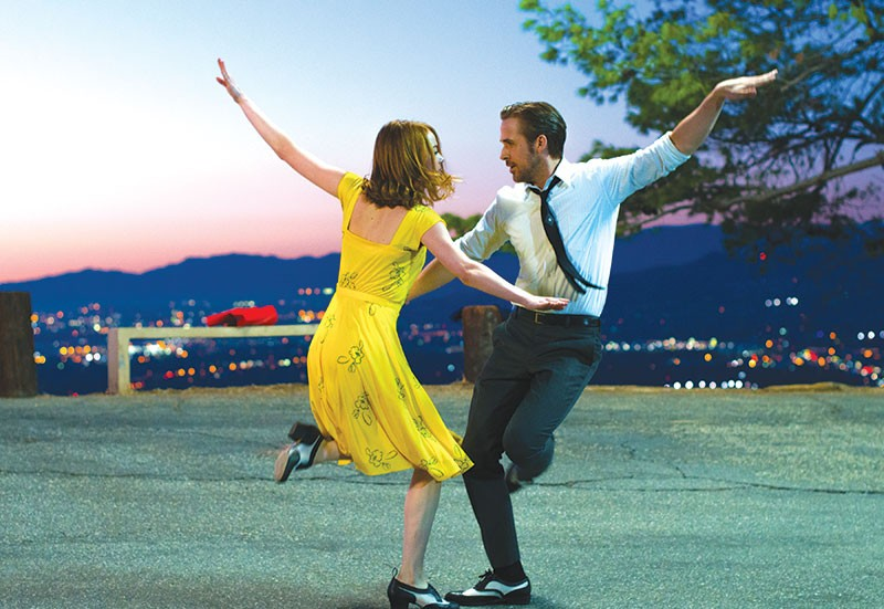 FOOTLOOSE  Emma Stone and Ryan Gosling are actually pretty good dancers in 'La La Land,' but the film missteps.