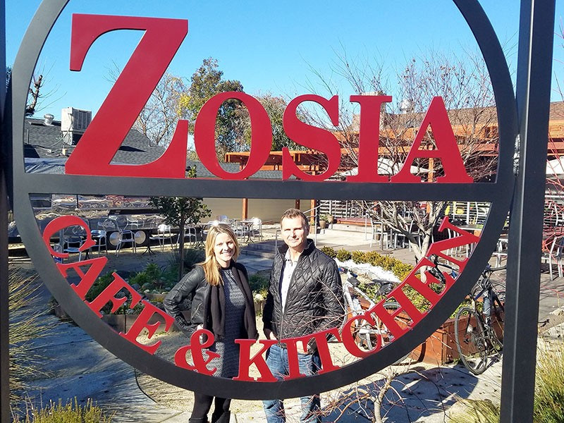 NEW KIDS ON THE BLOC  Monika and Slawek Michalak offer Polish classics and American standards at their two-month-old restaurant in Graton.