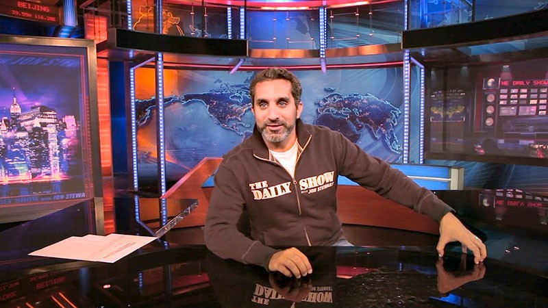 LAUGH LIKE AN EGYPTIAN  Bassem Youssef channeled Jon Stewart to launch his comedy career.