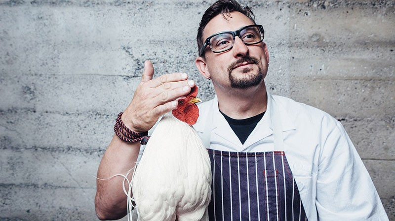 TASTEMAKER  While Chris Cosentino's San Francisco restaurants showcase offal, Acacia House is more mainstream.