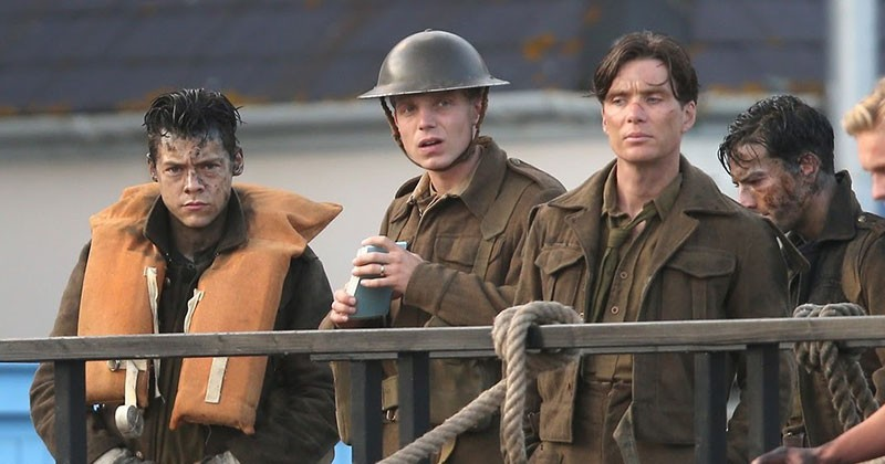 BAND OF BROTHERS  Director Christopher Nolan tells the harrowing story of the Battle of Dunkirk from three points of view.
