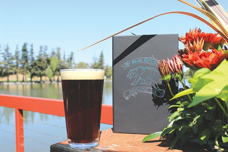BREW WITH A VIEW  Bear Republic's new pub looks out on Roberts Lake in Rohnert Park. - JACKIE HAYNES