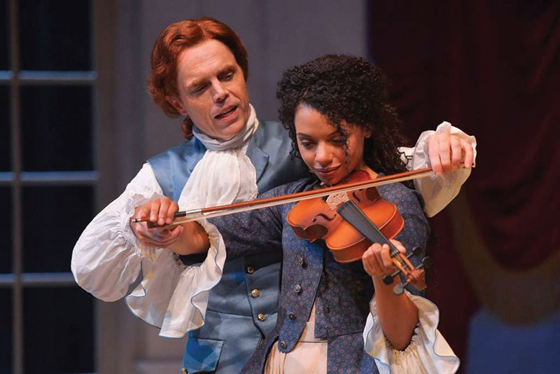 CONTROVERSIAL HISTORY 'Thomas and Sally' may be MTC's most polarizing play to date.