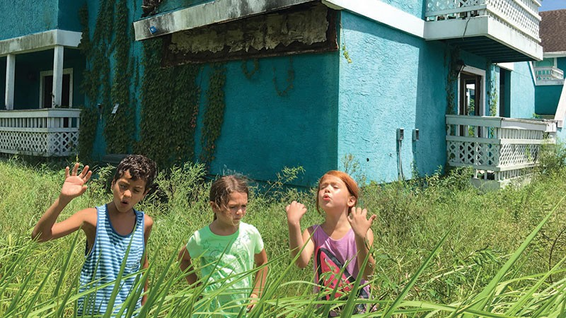 DON'T WANT TO GROW UP Three mischievous kids find adventure in Sean Baker's 'The Florida Project'