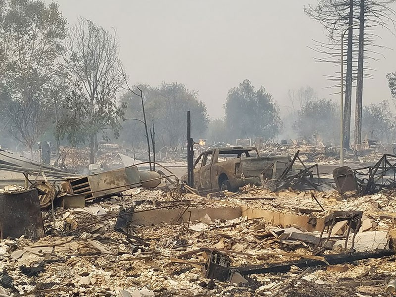 ALL GONE  The devastation of the North Bay fires puts the efficacy of urban growth boundaries in a new light. - STETT HOLBROOK