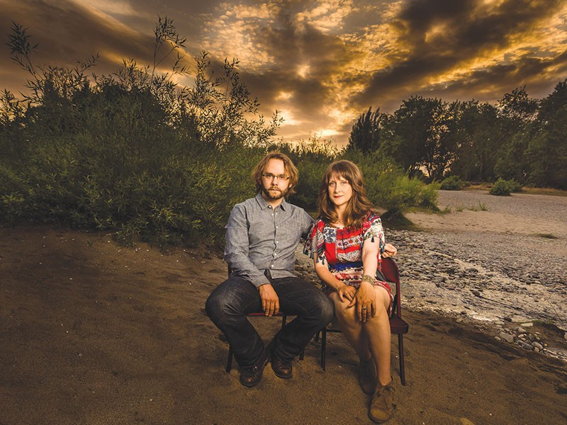 MUSICAL DUO After their last album, Sam Misner and Megan Smith needed to recharge creatively.