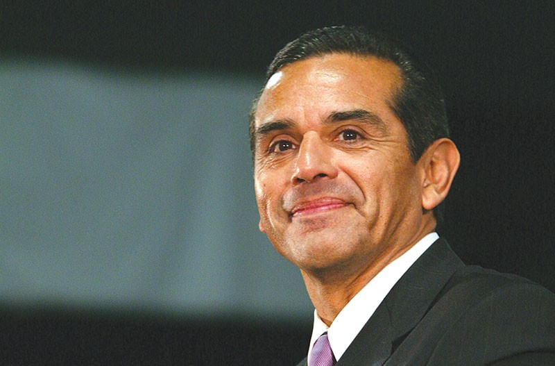 FOR THE PEOPLE  Antonio Villaraigosa says he has spent his entire life supporting universal healthcare.