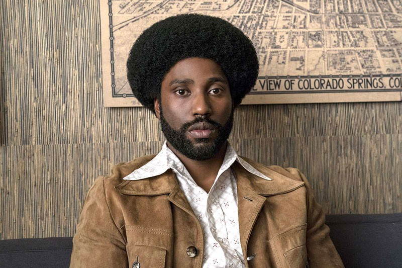 KLANDESTINE John David Washington plays a copy who boldly goes where no black man has gone before.