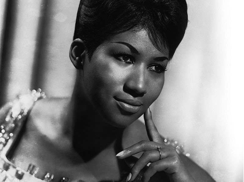 LONG LIVE THE QUEEN  Aretha Franklin makes a star appearance in book on rock's fierce women.