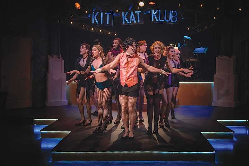 KIT KATS The musical direction of 'Cabaret' is one of the show's strong suits.