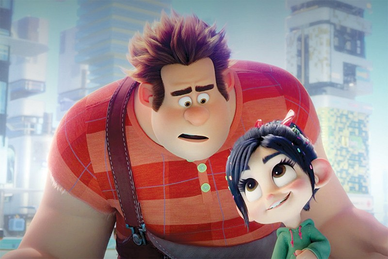 WHAT IN THE WORLD WIDE WEB? Video-game bruiser Ralph finds out living online is not all it's cracked up to be in 'Ralph Breaks the Internet.' - PHOTO COURTESY WALT DISNEY STUDIOS