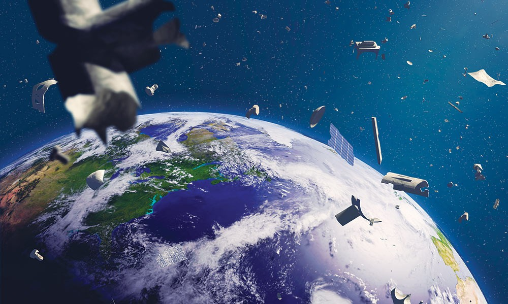Final Frontier of Trash After fouling Earth, humans are now making a mess of space, says writer Jeff Dondero.