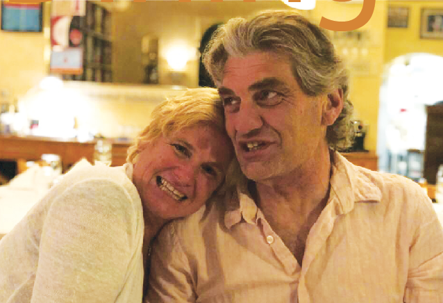 Kitchen Couple Kat Escamilla and Paolo Pedrinazzi play to open Portico in October, complete with an indoor fountain.