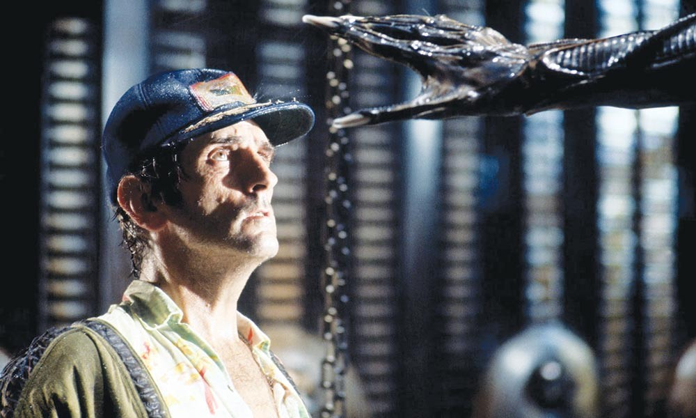 Scary Movie Ridley Scott's original 'Alien' returns to the big screen this month.