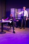 Henry (Dorian Locket, left) and Jack (Mike Pavone) are great in David Mamet's 'Race'