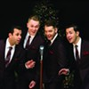 <b>HIP TO THE HOLIDAYS</b>  Celebrated crooners Under the Streetlamp sing American songbook classics at the Luther Burbank Center on Dec. 14.