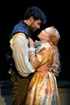 <b>LOVELY</b> Adam Magill plays Shakespeare, and Megan Trout is Viola in 'Shakespeare in Love.'