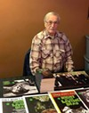 'Night of the Living Dead' co-creator John Russo shows off his zombie swag at Silver Scream Fest