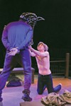 <b>THOROUGHBRED</b> Martin Gilbertson and Ryan Severt horse around in stunning new 6th Street production.